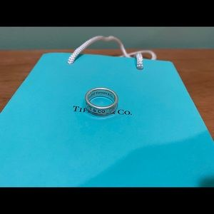 Authentic Tiffany & Co. 1837 ring